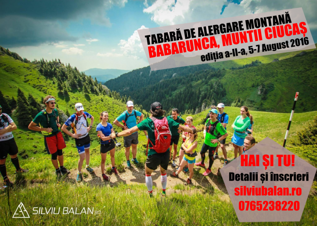 Raport: Tabără alergare montană Ciucaș 2016