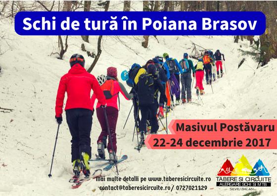 Schi de tură în Poiana Brașov, Masivul Postăvaru