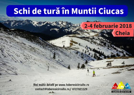 Raport: Tabăra de schi de tură din Cheia, Munții Ciucaș 2018