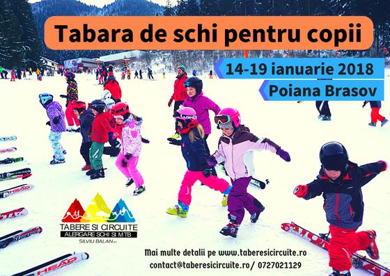 Raport: Tabăra de schi pentru copii 2018