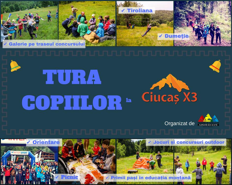 Raport: Tura Copiilor la CiucașX3 2017