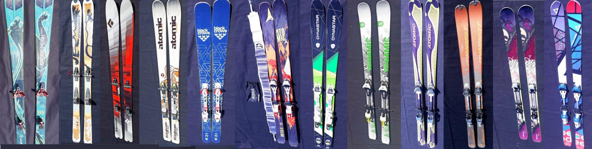 Pentru cei interesați de achiziționarea unei perechi de schiuri de tură second-hand,