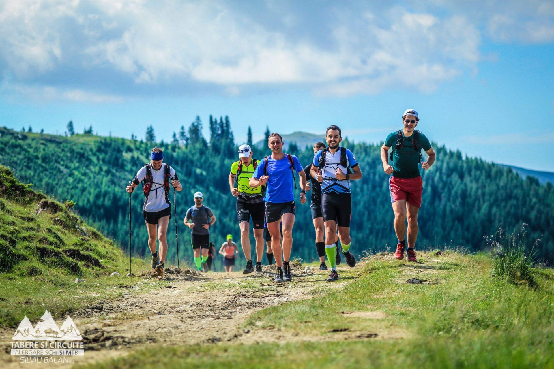 Alergare pe trasee epice ale Carpaților
