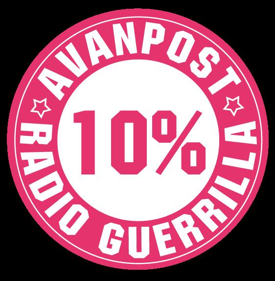 Avanpost 10% discount Radio Guerilla